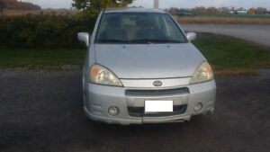 2003 Suzuki Aerio for sale with lots of replaced parts