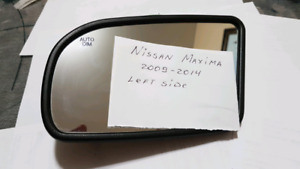 Mirror Glass for 2009-2014 Nissan Maxima Right or left sides