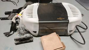 Chamberlain 3/4 belt garage door opener + parts AS IS