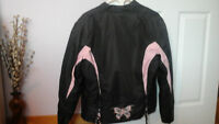 new womans Xelement ADVANVED MOTORCYCLE jacket and chaps