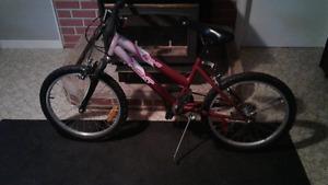 Girls Rave NEXT mountain  bike 20 inch wheels, great shape 60$