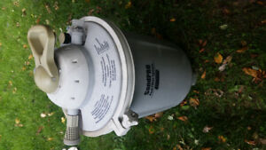 Pool Sand Filter and pump