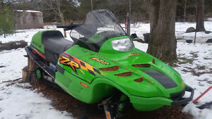 1998 arctic cat snowmobile for sale