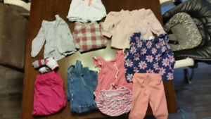 3-12 month girls clothing