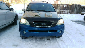 2003 Kia Sorento Certified with Low km