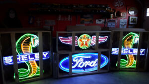 Neon signs for the mancace