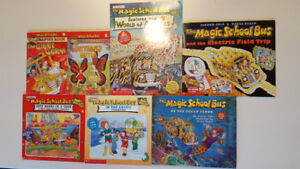 The Magic School Bus Books - Like New - $2 each or $10 for 7