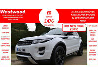 Land Rover Range Rover Evoque 2.2SD4 auto 2012MY Dynamic LUX
