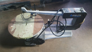 delta scroll saw 16 inches shop master