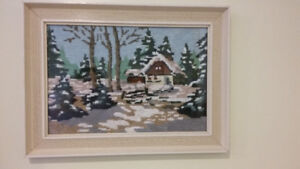 picture Winter Cottage