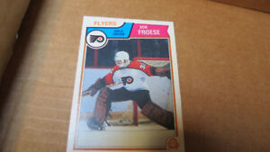 1983-84 Bob Froese OPC NHL rookie card