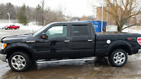 2014 Black Ford F-150 XLT SuperCrew 4x4