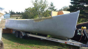 24' X 10' Cape Island Outboard. New , Never in Water. $7000 !!!!