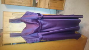 Plus size Maid of honor dress