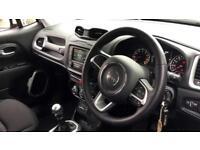 2016 Jeep Renegade 1.4 Multiair Longitude 5dr Manual Petrol Hatchback