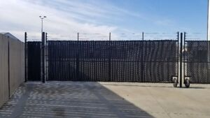 Private, secured fenced yard available for rent!