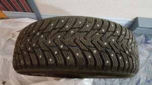 Brand new studded tires