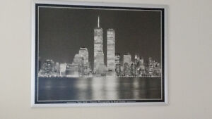 Black and white framed pictures