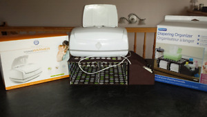 Wipes Warmer and Diapering Organizer