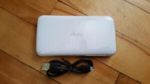 Power Bank OKZU. Lightweight portable charger