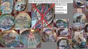 41 wildlife themed bradex plates Peterborough Peterborough Area image 2