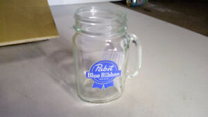 PABST BLUE RIBBON mug pour biere beer glass