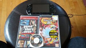 PSP avec jeux