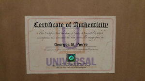 Autographed and framed picture of Georges St.Pierre UFC Kingston Kingston Area image 2
