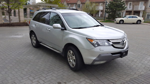 2008 MDX AWD 7 SEAT LEARTHER SUNROOF BLUETOOTH 110654 KM