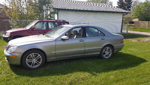 2003 Benz S430 4MATIC 187km AWD - TRADE FOR GARAGE PAD