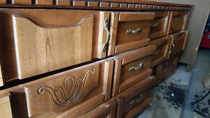 2 OLD DRESSERS FOR SALE