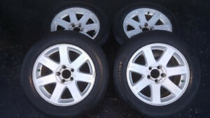 """Rims and Tires 17"""" OEM Chrysler 300 and Dodge Charge"""