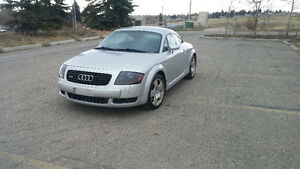 2002 Audi TT Quattro Coupe (2 door)