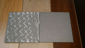 Ceramic  floor tiles made in Italy ( light Gray )