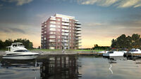 Waterfront view, 31/2 condo in Pierrefonds, Qc. for rent