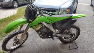 2007 KX250F FOR SALE