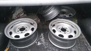 Steel rims for F150 with tire pressure sensors,  2013
