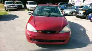 03 ford focus 0nly 140.000km SAFETY+E-TEST+3 MONTH WARRANTY*INC