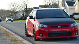2013 SCION TC RS8 (Coilover kit+Extra set of wheels/tires)
