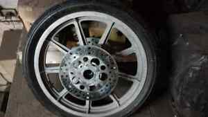 Harley front wheel