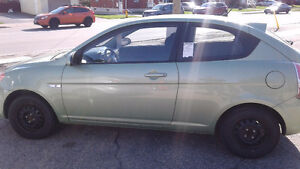 2009 Hyundai Accent Coupe Only 135000km