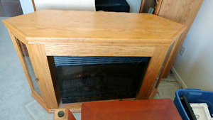 Electric Fireplace tv unit