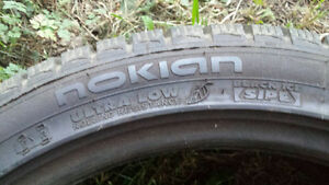 Nokian 245/40 R18 used 1 winter.