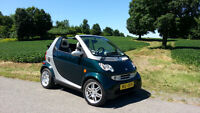 Smart Fortwo modèle Grand Style Cabriolet 2006 Diesel