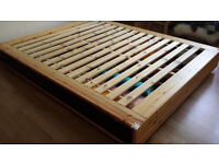 Ikea Mandal Bed with 4 storage drawers