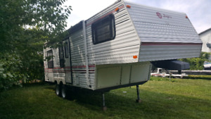 5th wheel camper 25.5ft