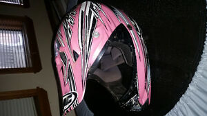 Quadding/snowmobiling helmet for sale.