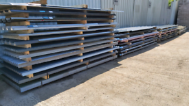 LIMITED OFFER BOX PROFILE SHEETS CORRUGATED ROOFING SHEETS from £1.00f