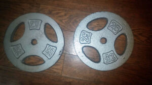 Pair of 25 pounds Barbell Plate
