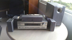 Great sound! Yamaha 5.1 Home theatre system